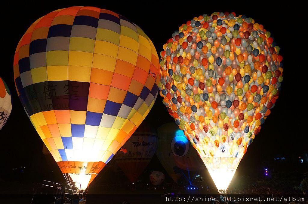 光雕熱氣球