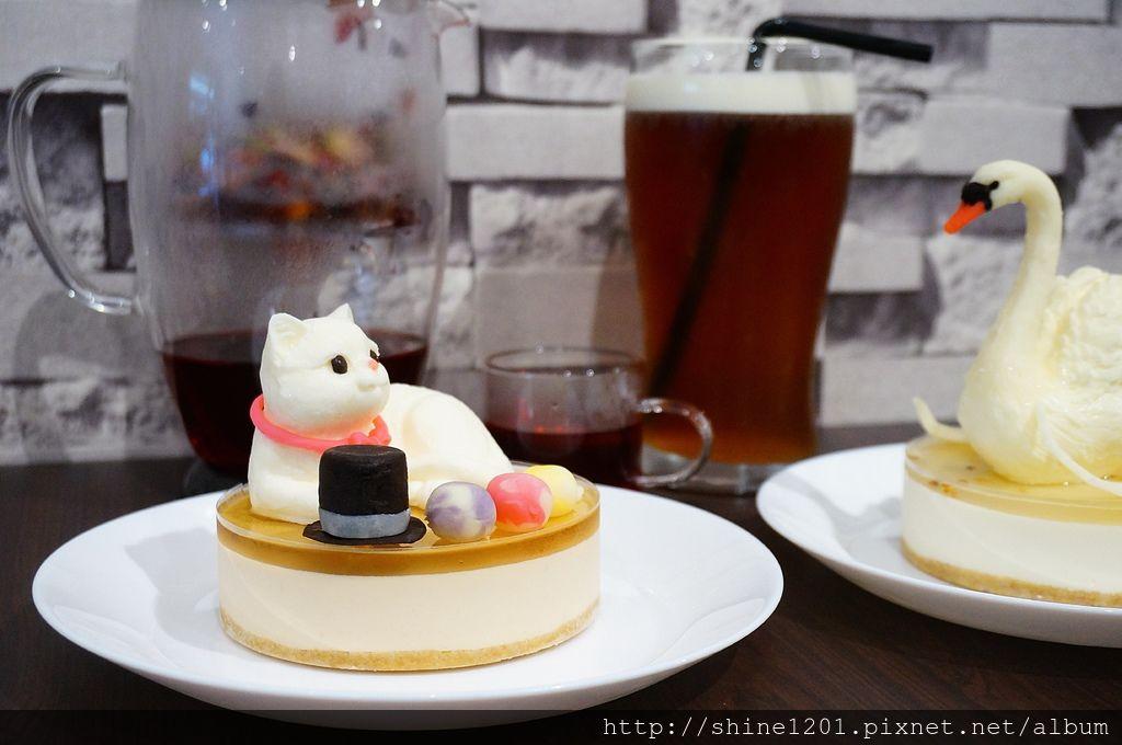 板橋甜點蛋糕推薦|花園腳印.新埔站下午茶美食