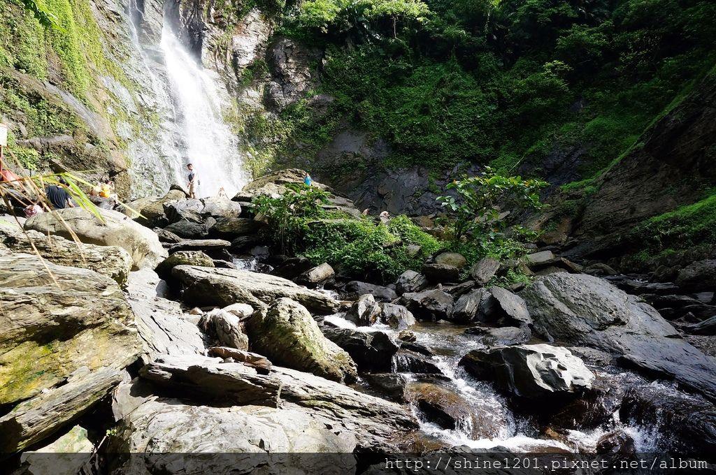 涼山休憩區.涼山瀑布|屏東瑪家鄉景點