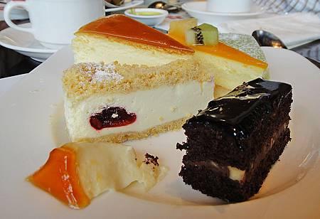 起司蛋糕 手工布丁 巧克力蛋糕