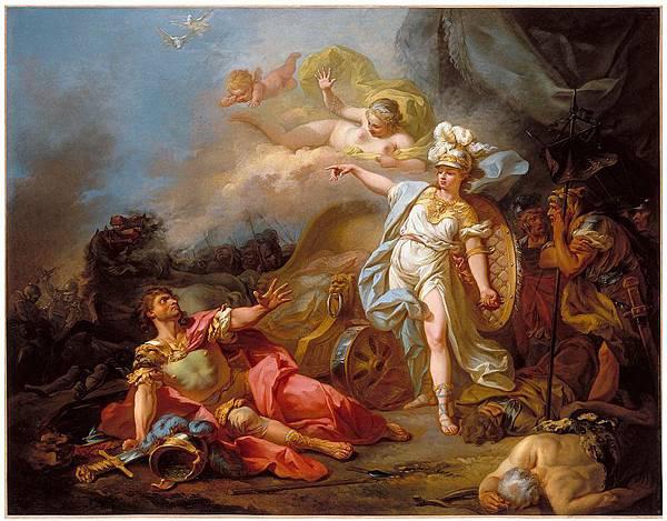 蜜涅芙大戰馬爾斯