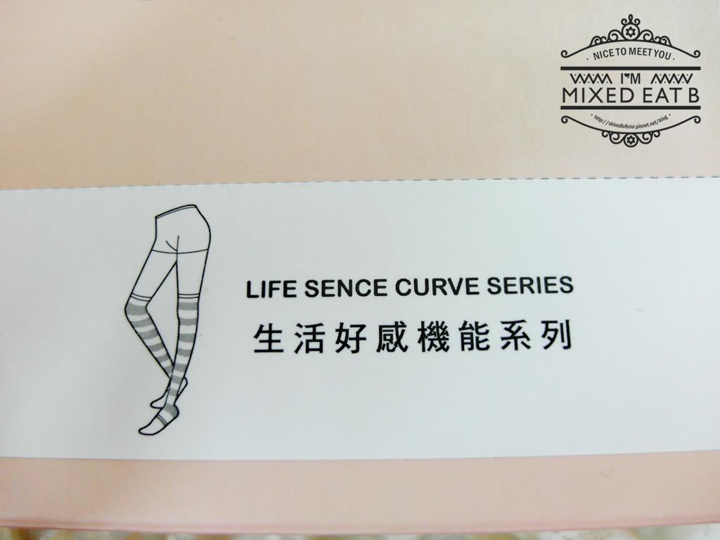 V.VIENNA微微安娜-輕機夜寢條紋塑腿襪-1-3
