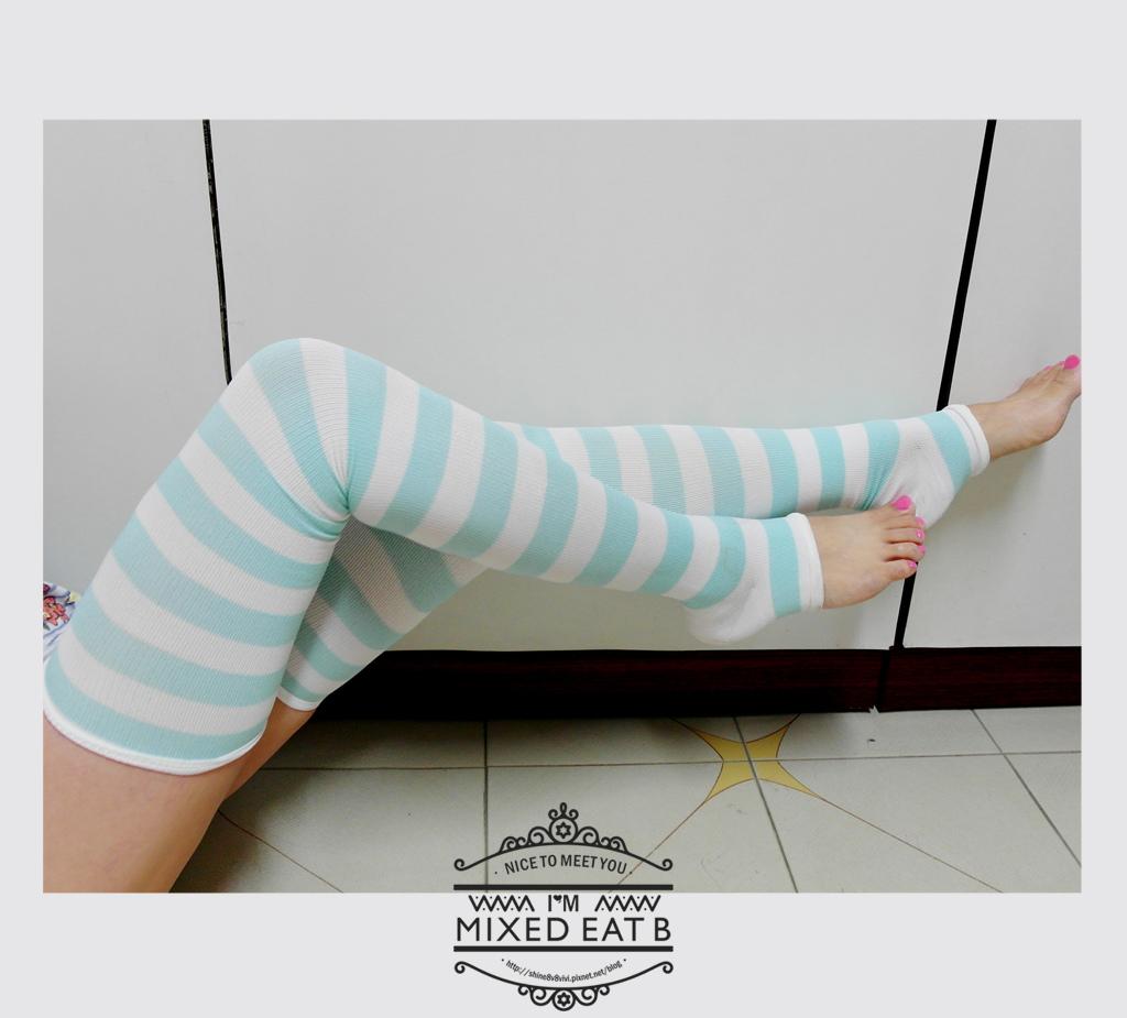 V.VIENNA微微安娜-輕機夜寢條紋塑腿襪-3-2