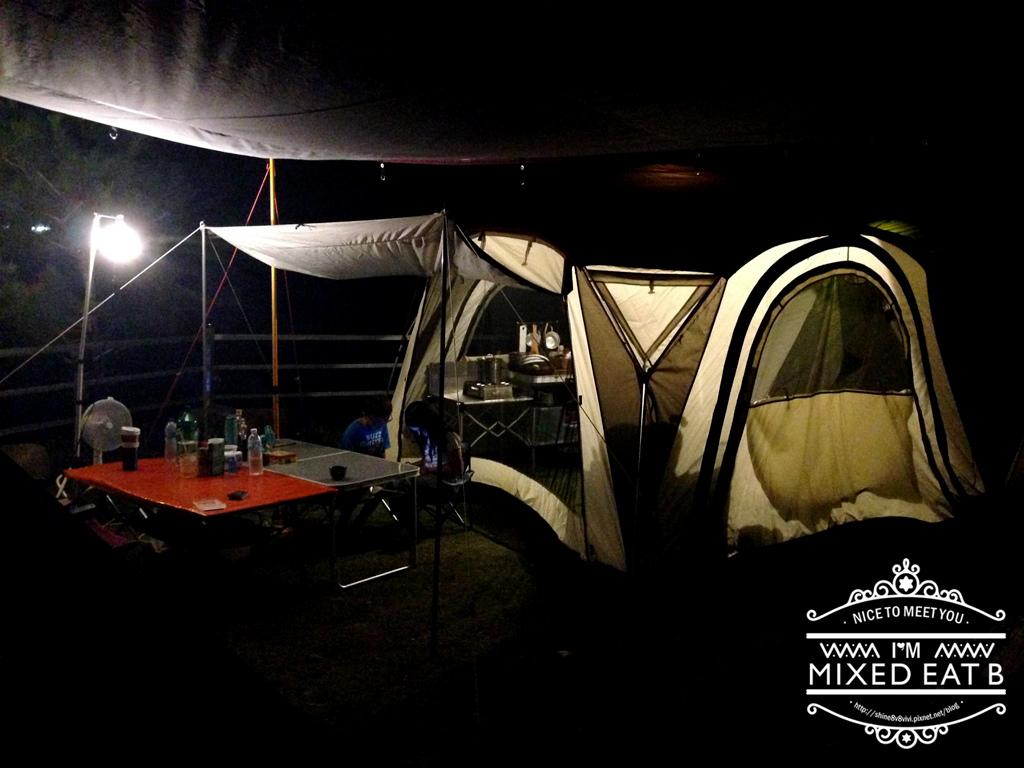 拉拉山-樂野營區露營+日本Smile LED療癒小提燈-2-1