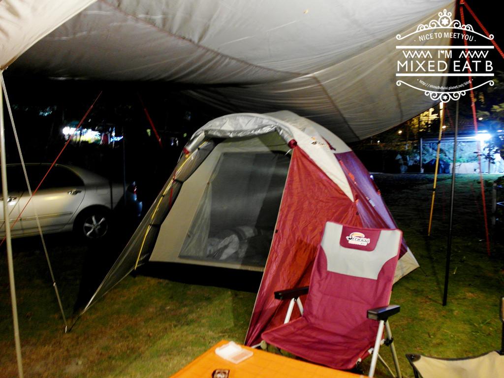 拉拉山-樂野營區露營+日本Smile LED療癒小提燈-2-2