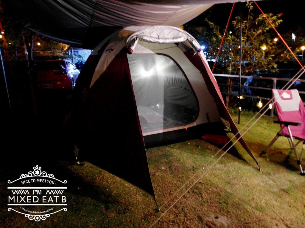 拉拉山-樂野營區露營+日本Smile LED療癒小提燈-2-4