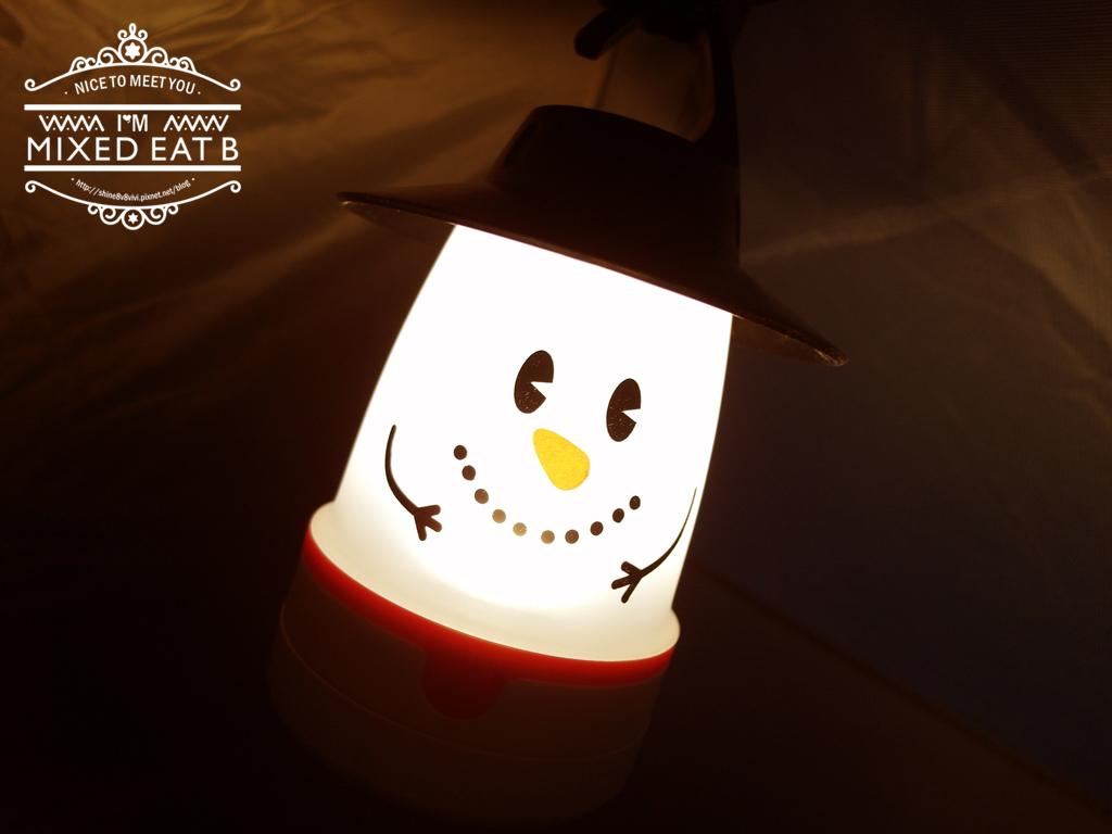 拉拉山-樂野營區露營+日本Smile LED療癒小提燈-3-4