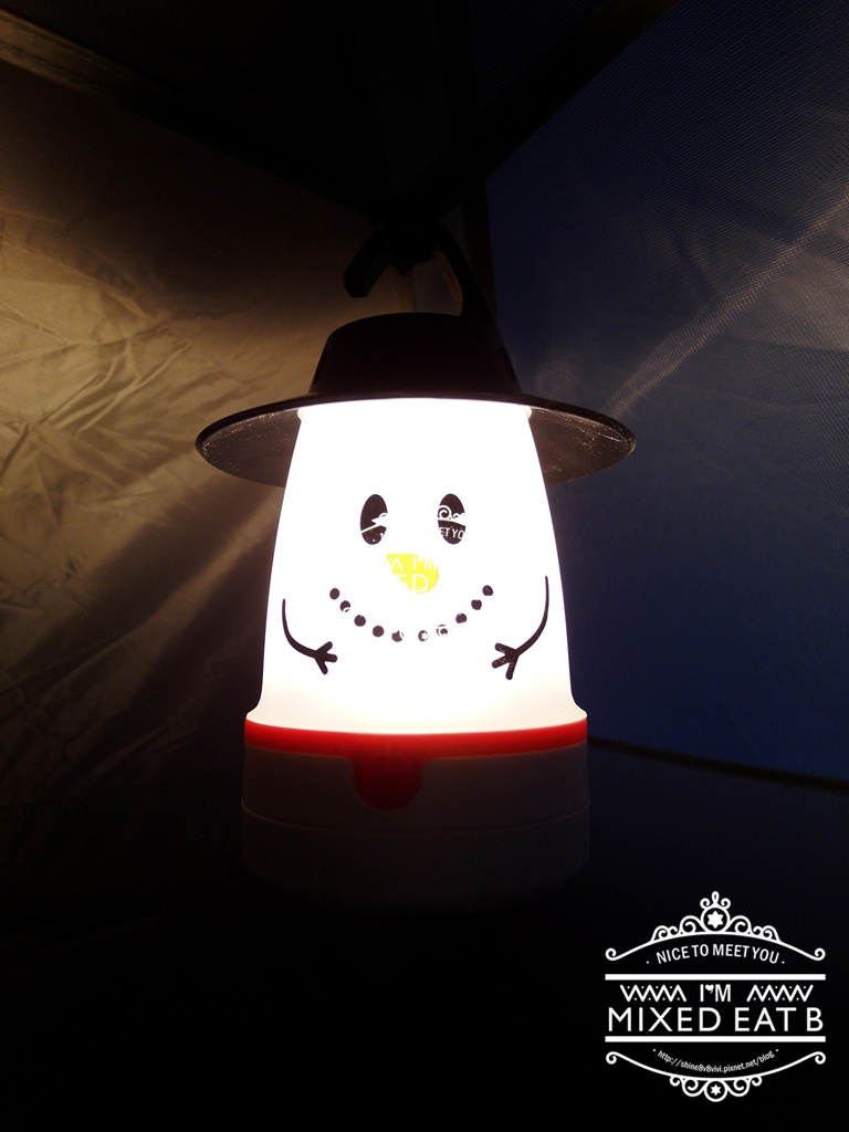 拉拉山-樂野營區露營+日本Smile LED療癒小提燈-3-7
