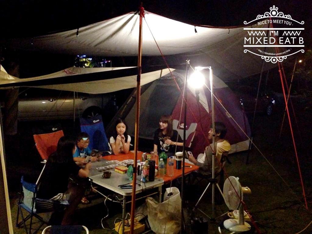 拉拉山-樂野營區露營+日本Smile LED療癒小提燈-4-2