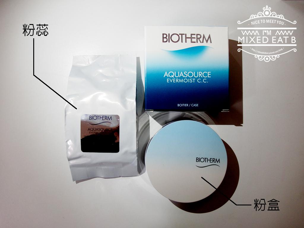 Biotherm碧兒泉 光透奇蹟水CC氣墊粉餅-1-3