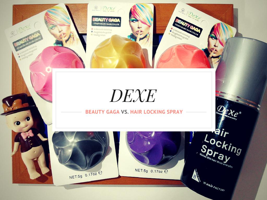 DEXE菲博國際-一次性彩色染髮球+定型髮膠噴霧-0-1