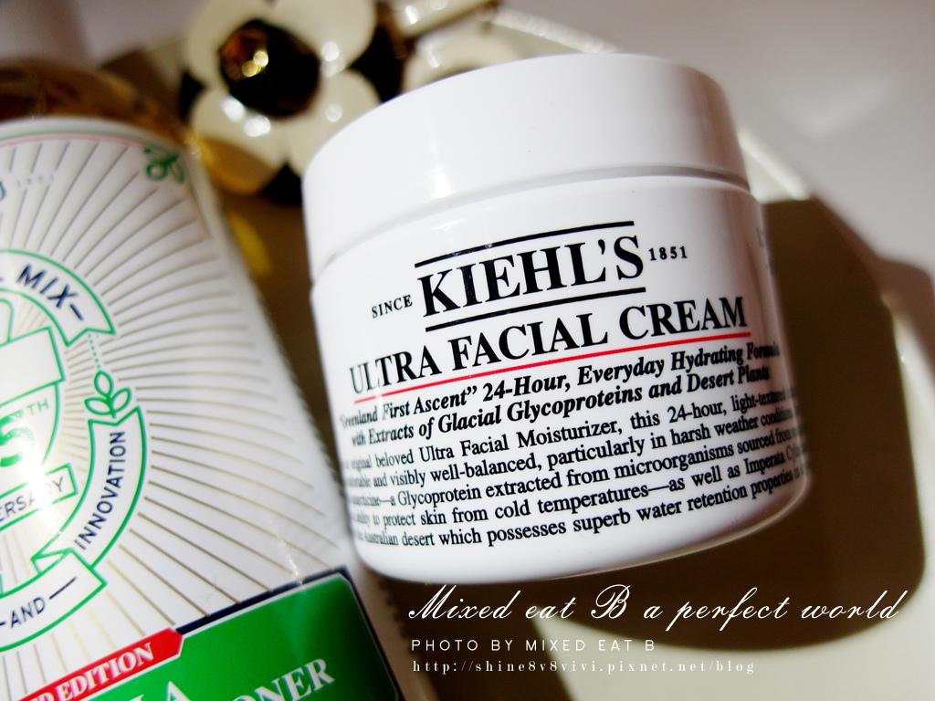 Kiehl's金盞花植物精華化妝水+冰河釀蛋白保濕霜-1-12