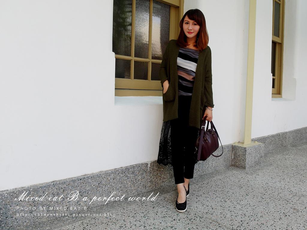MonaSmile蒙娜微笑_鑽飾條紋厚底娃娃鞋-1-24