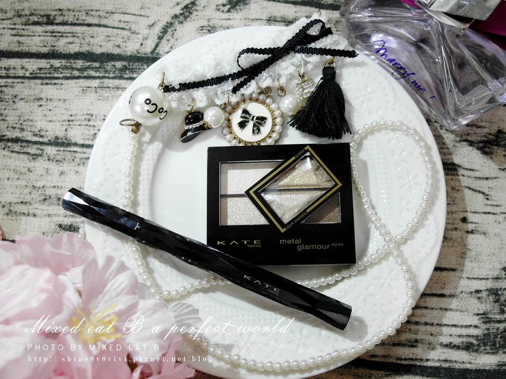 KATE奢光燦媚眼影盒+持久液體眼線筆-1-2