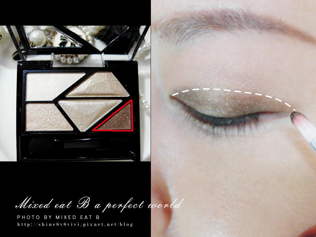 KATE奢光燦媚眼影盒+持久液體眼線筆-1-9
