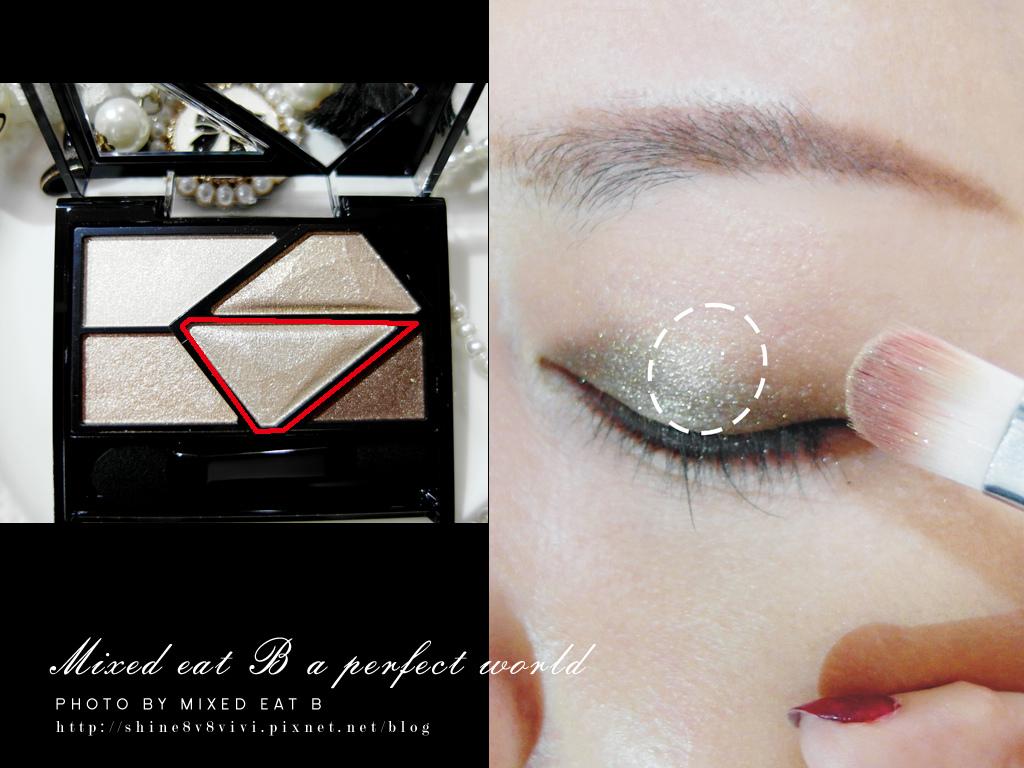 KATE奢光燦媚眼影盒+持久液體眼線筆-1-11