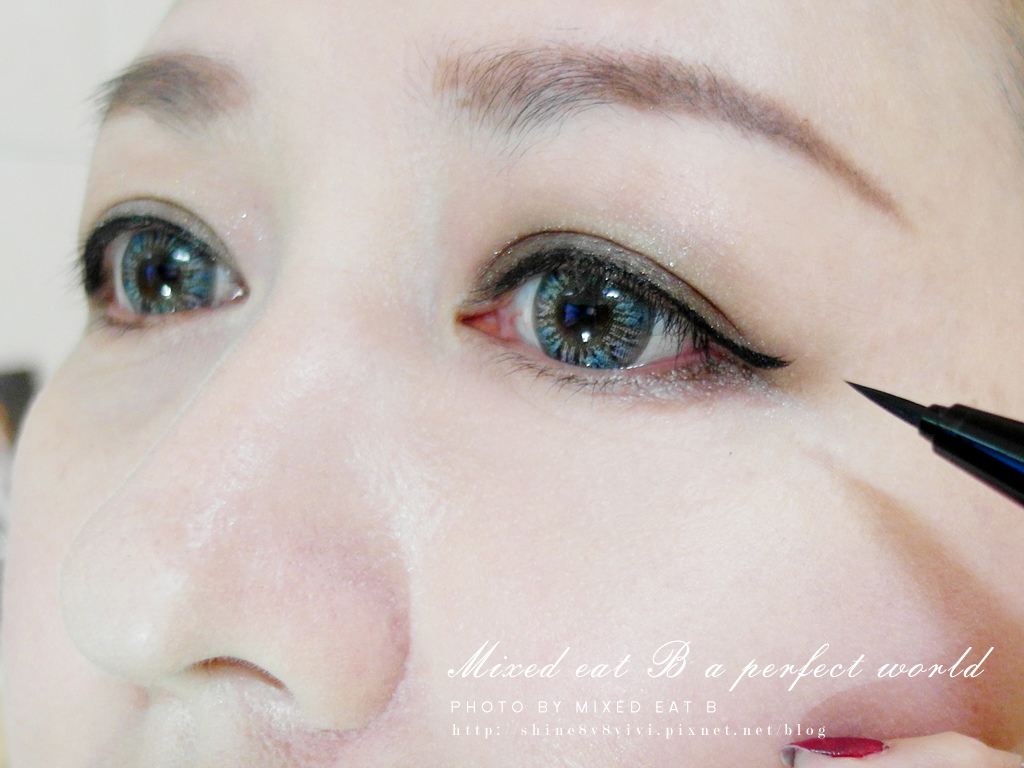 KATE奢光燦媚眼影盒+持久液體眼線筆-1-20