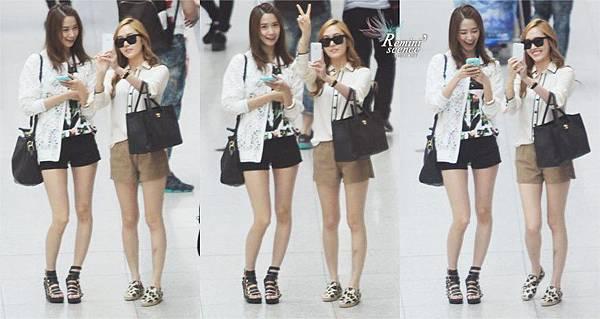 130526 YoonSic Incheon Airport 在台灣機場放閃