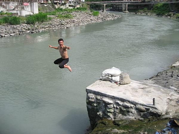 烏來跳野溪
