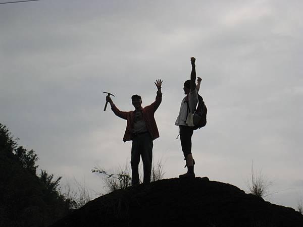 登上頂峰!
