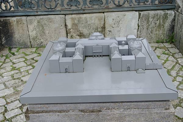 應該是主教宮殿的模型吧.JPG