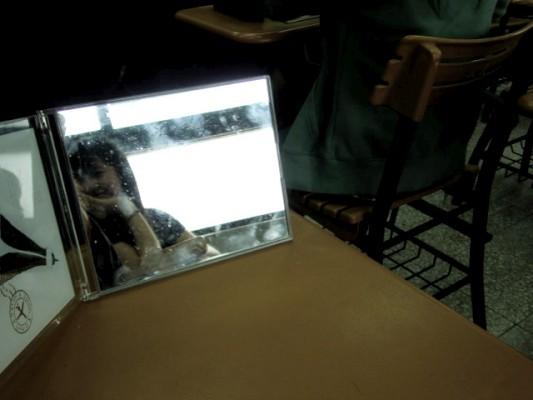 上課不認真系列之 黃喬的鏡中自我