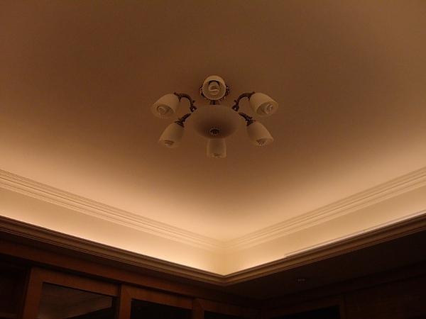天花板與燈飾