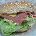 火腿漢堡加起司