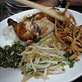 五分埔虱目魚丸之雞腿飯