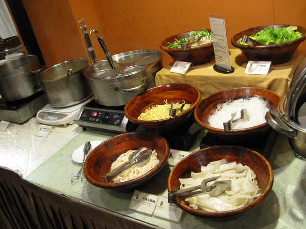 DIY 煮麵區