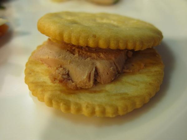 鵝肝醬夾心餅乾
