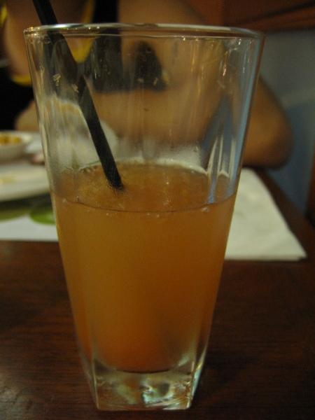 難喝的葡萄柚汁