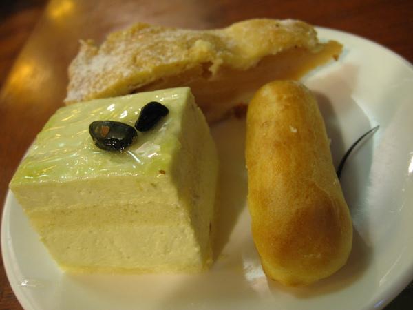 蛋糕和泡芙