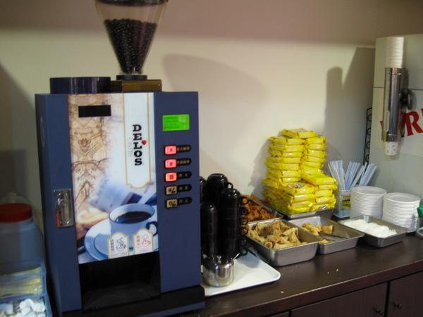 咖啡機和一些鍋料
