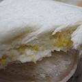小七雞蛋沙拉夾心土司斷面