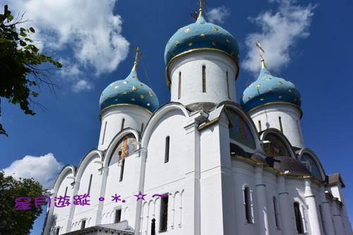 謝爾蓋聖三一大教堂2016俄羅斯