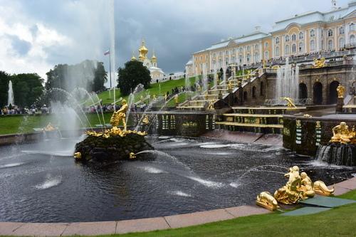 夏宮花園~2016俄羅斯