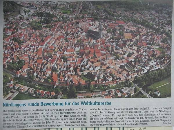 Noerdlingen, Germany