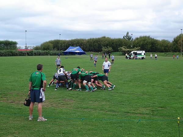 第一次現場看rugby @ Riwaka Rugby