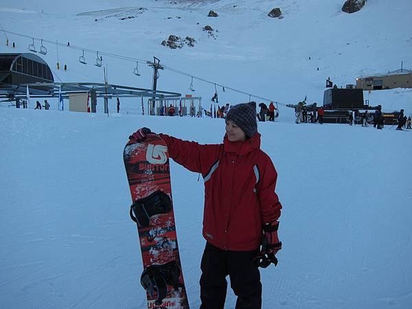 果然snowboard比較帥