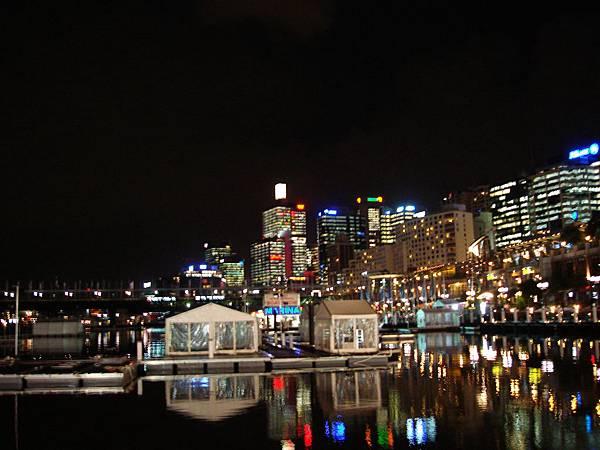 Darling Harbour繁華夜景