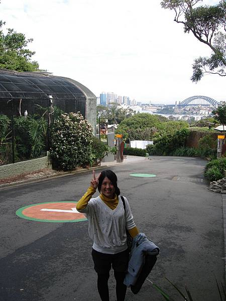 動物園也可遠眺市區呀