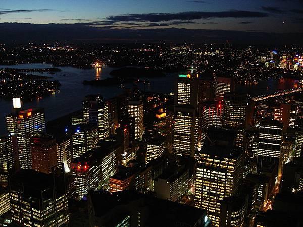 雪梨夜景太美