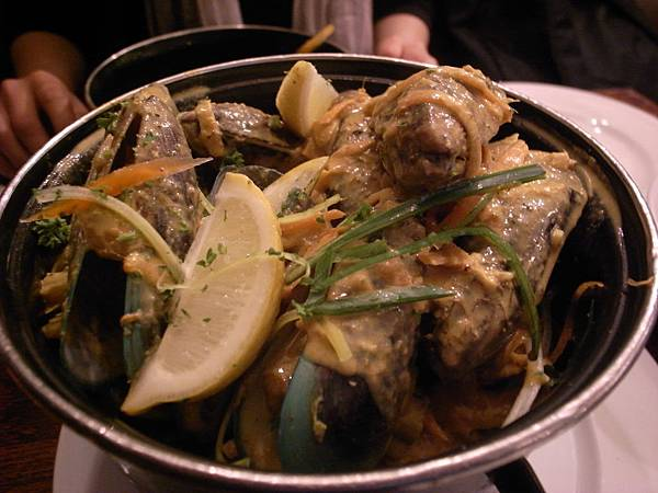 Steamed Mussels @ De Fontein