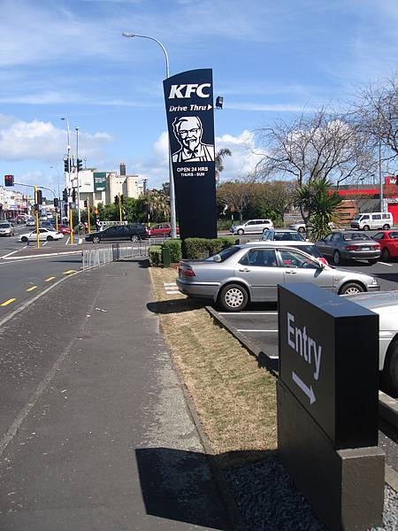 黑色KFC現身紐西蘭
