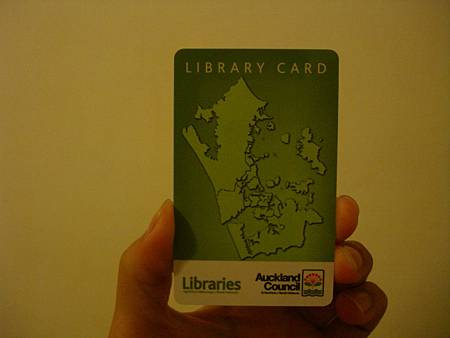 Auckland Libraries Card