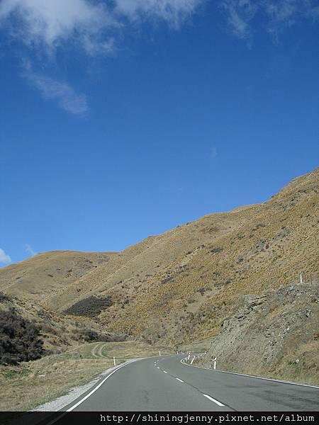 走很難開的捷徑從Wanaka快速到Queenstown