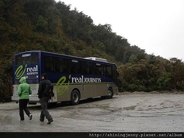 換搭巴士走山路