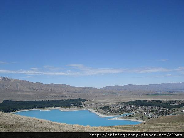 Mt John眺望Lake Tekapo