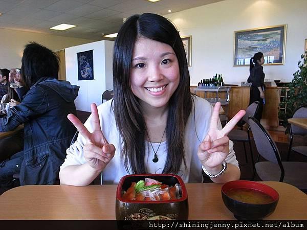 Kohan的鮭魚生魚片飯一定要吃
